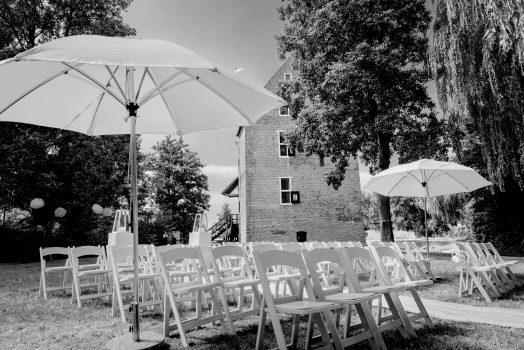 Bruiloft in de achtertuin van 'T Huys Dever