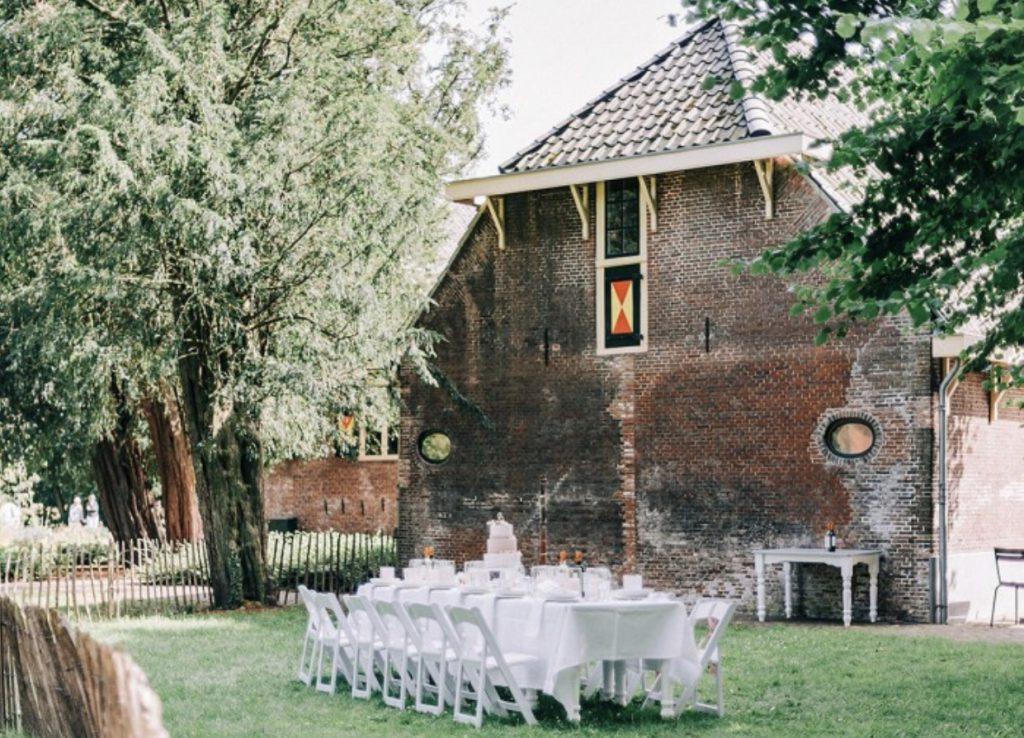 Een huwelijksdiner in de Hofboerderij