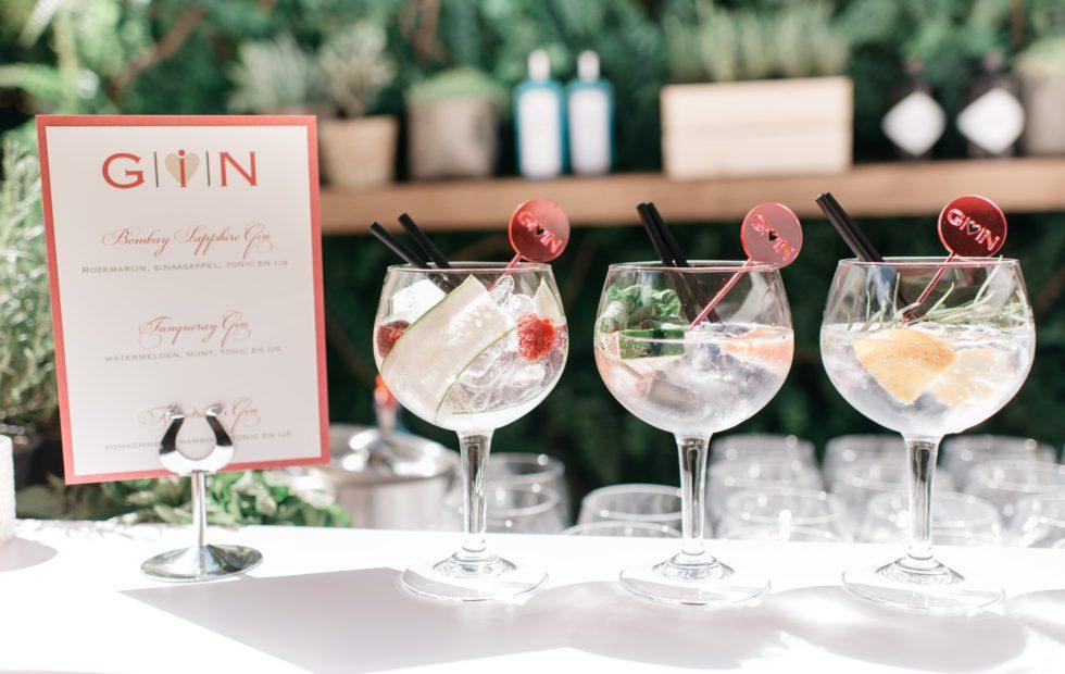 Gin Tonic Bar Bruiloft