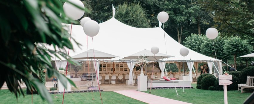 Ivory tent